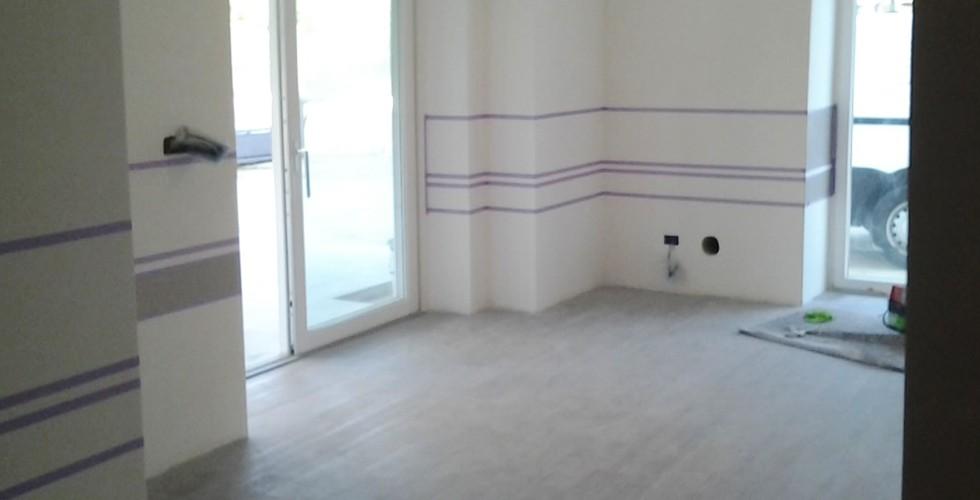 Pareti A Righe In Cucina: Come dipingere pareti a righe verticali e orizzontali donnaclick.